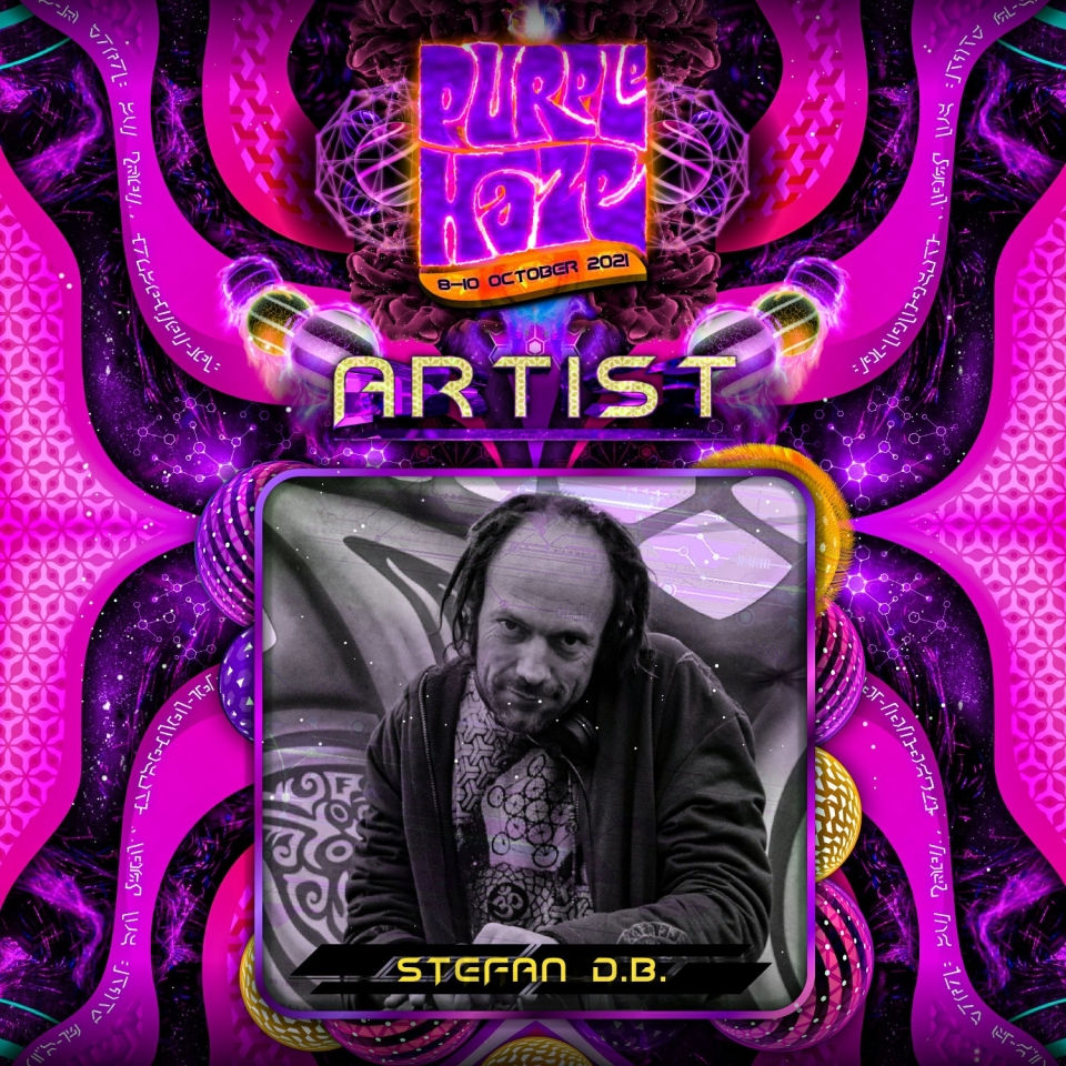 Artist Announcement: Stefan dBStage: Main StageStyle: TwilightWith a DJ career spanning over 2 decades he never disappoints. Starting off Sunday Funday with deep psychedelic Zenonesque.#Zenonesque #psychedelic #ubuntugathering #purplehaze2021